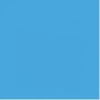 """Пленка ПВХ Elbeblue SUPRA Adriatic blue (604""""синий"""", акриловое покрытие), ширина 1,65 м"""