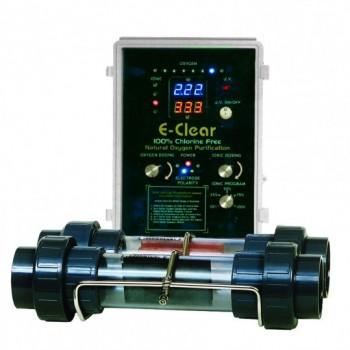 Бесхлорная система дезинфекции воды E-Clear MK7/CF1-150 (до 150 м³)