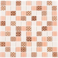 Мозаика Котто GM 4055 C3 Beige w/Beige m/Structure 30x30