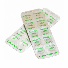 Таблетки для тестера Phenol red 1 рН - 10 штук