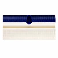 Плитка керамическая бордюрная с поручнем и водостоком Aquaviva, кобальт+беж