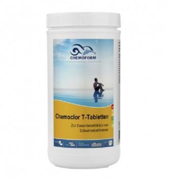 Хлор длительного действия Chemoform Chemochlor-T-Tabletten 1 кг (табл. 20 г)
