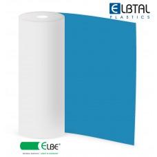Плёнка ПВХ Elbe Natural Sealing для резервуаров с питьевой водой, синяя (цвет 690), неармированная, толщина 1.5 мм, ширина 2 м фото
