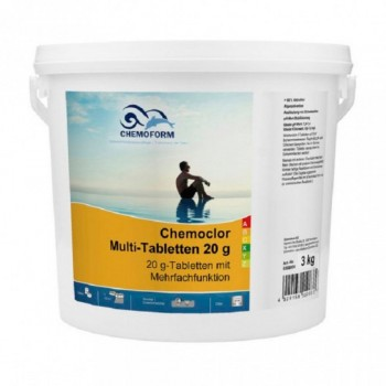 Хлор длительного действия Chemoform Multitab 3 кг. (табл. 20г)