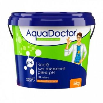 Регулятор pH AquaDoctor pH Minus 5 кг (гранулы)