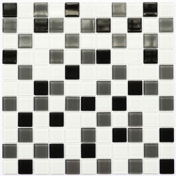 Мозаика Котто GM 4034 C3 grey m/grey w/white 30x30
