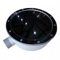 """Плато AquaViva аэромассажное круглое (R200) 2"""" с кольцом"""