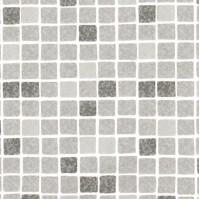 Пленка ПВХ Elbeblue Mosaic grey (1123/04 мозаика серая), ширина 1,65 м