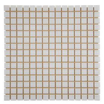 Мозаика стеклянная Aquaviva 2х2 белая A20N(1)