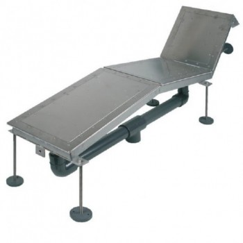 Аэромассажный лежак FitStar для 2 человека, 2,2 кВт (Пленка)