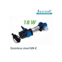 УФ стерилизатор для пруда STU-18 в корпусе с нержавеющей стали