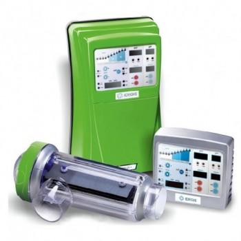 Соляной электролиз Idegis Domotic PH LS, 24 гр хлора/час + pH