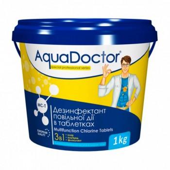 Средство 3 в 1 по уходу за водой AquaDoctor MC-T (табл. по 200гр) 1кг
