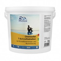Хлор шокового действия Chemoform Chemochlor-T-Schnelltabletten 5кг (табл. 20 г)