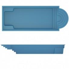 БАССЕЙН COMPASS POOLS JAVA 101 - 10,02 X 3,82 X 1,51 м (В комплекте с необходимым оборудованием)