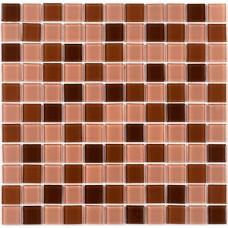 Мозаика Котто GM 4014 C3 brown d/brown m/brown w 30x30