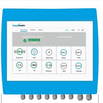 Автоматизированная дезинфекция и очистка воды Aquamatic Smart до 400 м3 (модуль управления)