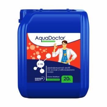 Гипохлорит натрия AquaDoctor C-15L 20 л  (жидкий)
