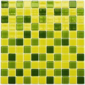 Мозаика Котто GM 4032 C3 lime d/lime m/yellow 30x30