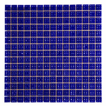 Мозаика стеклянная Aquaviva 2х2 кобальт C63N(5)