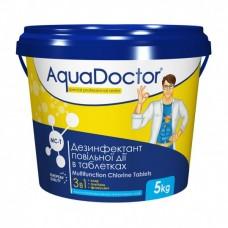 Средство 3 в 1 по уходу за водой AquaDoctor MC-T  (табл. по 200гр) 5кг