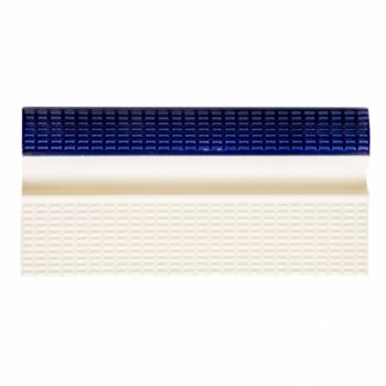 Плитка керамическая бордюрная с поручнем Aquaviva, кобальт+беж