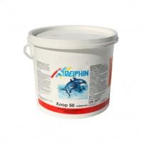 Хлор шокового действия Delphin Хлор 50 (таблетки) 5кг