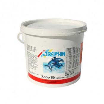 Хлор шокового действия Delphin Хлор 50 (таблетки) 1кг