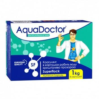 Средство против мутной воды Aquadoctor Superflock 1 кг (картриджи)
